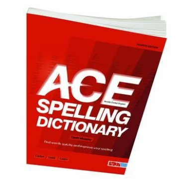 ace spelling dictionary david moseley shop online for
