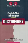 English-Thai & Thai-English One-to-One Dictionary