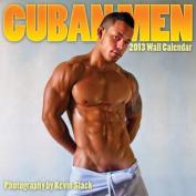Cuban Men Wall Calendar: 2013