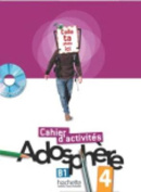 Adosphere 4 - Cahier D'Activites + CD-ROM [FRE]
