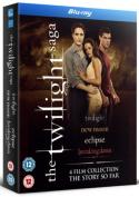 Twilight Saga 1-4 [Region B] [Blu-ray]