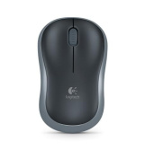 Logitech M185 Wireless Notebook Mouse Black ~ Small