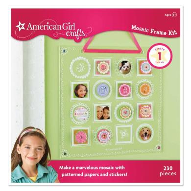 American girl crafts mosaic frame kit shop online for for American girl craft kit