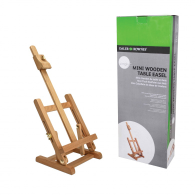 daler rowney mini wooden table easel 2