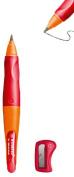 Stabilo Smove Easy Ergo Pencil - Orange/Red Right Handed