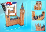 Daron CFMC087H Big Ben 3D Puzzle With Book