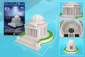 3D Puzzles CF208H Jefferson Memorial 3D Puzzle - 42 Pieces