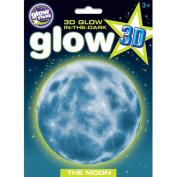 The Original Glowstars Company Glow 3D Moon