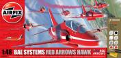 AIRFIX KIT RED ARROW HAWK GIFT SET