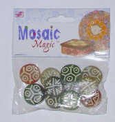 'Mosaic Magic' Acrylic Round Beads