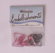 Wire Heart Shape Embellishments