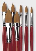 da Vinci COSMOTOP-Spin Oval Shape Water Colour Brush  - Size 16