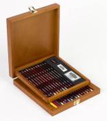 Derwent Pastel Collection in a Wooden Box