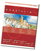 Hahnemhle Andalucia Watercolour Pad - 24cm x 32cm