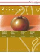 Hahnemhle Velour Pastel Paper Pad - 30cm x 40cm