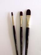 Pro Arte Acrylix Artist Painting Brush Filbert (Series 205) - 2