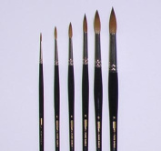 Sable Watercolour Painting Brush by Ziggy Art - Size 12