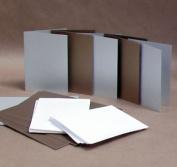 Pearl Silver & Gold Square Cards PijPoj