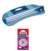 2 Paris Blades for Maped MultiCut Paper Trimmer -