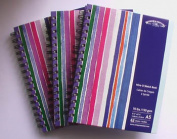 Stripy Wire-O Sketch book from Winsor and Newton - A4
