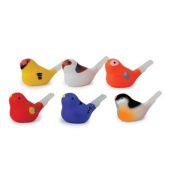 Bird Shaped Water Whistle Assorted Colours