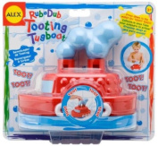 Cuckoo Alex Rub A Dub Tooting Tugboat Bath Toy