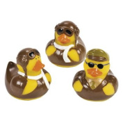 12 ct - Pilot Aviator Rubber Ducks