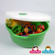 Green Tub Toy Organiser