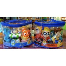 Disney Set of 6 Pixar Character Pool Bath Vinyl Toys NEW Buzz Woody Nemo Incredibles Sulley