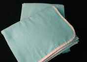 Peerless Plastics Inc. Pz-Rb1 Stay Warm Blanket Light Blue 35X46
