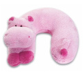 Noodle Head Travel Buddies Pink Hippo