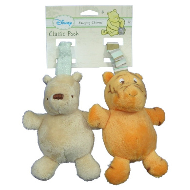 Disney Classic Pooh Hanging Chimes Winnie The Pooh and Tigger Baby Toy