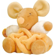 Kaloo Peach Mouse, Orange, Small