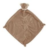 Angel Dear Cashmere soft Lovey Blankie Security Blanket - DARK BROWN BEAR