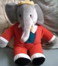 Babar Elephant 38cm Plush Doll Toy