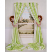 Curtain Critters Plush Jungle Safari Lion Curtain Tieback, Car Seat, Stroller, Crib Toys Set