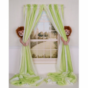 Curtain Critters Plush Jungle Safari Lion Curtain Tieback, Car Seat, Stroller, Crib Toys Set