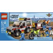 LEGO City Town Dirt Bike Transporter 4433