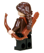 5.1cm Hunger Games Mini Figurine - Katniss Everdeen in District 12 Clothing