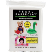 Creative Paperclay Pearl Paperclay, 470ml, White