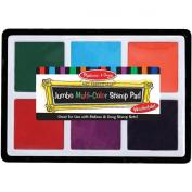 Melissa and Doug 2419 Jumbo Multi-Color Stamp Pad