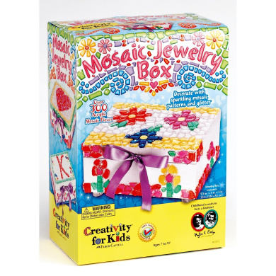 Creativity for Kids Mosaic Jewellery Box by Creativity for Kids - Shop ...