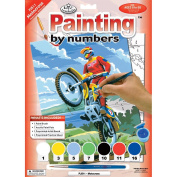 Royal & Langnickel Painting by Numbers Junior Small Art Activity Kit, Motocross