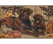 Reeves Large Acrylic Painting By Numbers - Resting Labrador