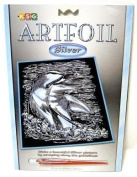 KSG Artfoil Silver : Dolphin