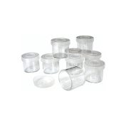 Craft Cups W/Lids, 9-Pack