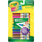 Crayola Colour Wonder Mini Markers, 10-Count