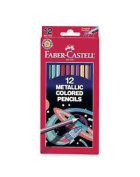 Faber Castell 12 Metallic Coloured Pencils