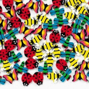144 Mini Insect Erasers