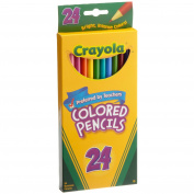 Crayola 24ct Long Colored Pencils
